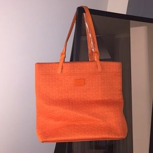 Neon orange Michael Kors bag